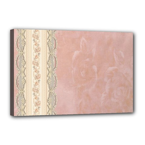 Guestbook Background Victorian Canvas 18  x 12