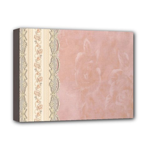 Guestbook Background Victorian Deluxe Canvas 16  x 12