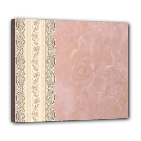 Guestbook Background Victorian Deluxe Canvas 24  x 20