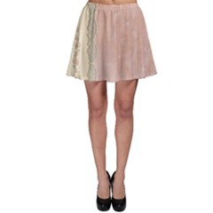 Guestbook Background Victorian Skater Skirt
