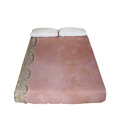 Guestbook Background Victorian Fitted Sheet (Full/ Double Size)