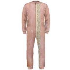 Guestbook Background Victorian OnePiece Jumpsuit (Men)