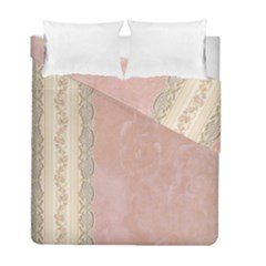 Guestbook Background Victorian Duvet Cover Double Side (Full/ Double Size)