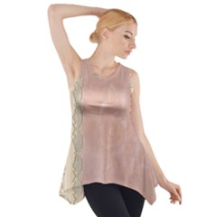 Guestbook Background Victorian Side Drop Tank Tunic