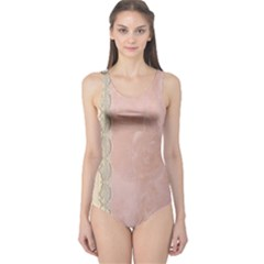 Guestbook Background Victorian One Piece Swimsuit
