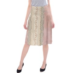 Guestbook Background Victorian Midi Beach Skirt