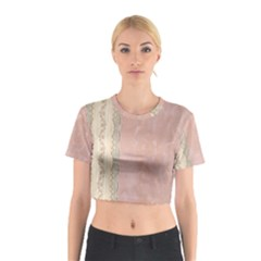 Guestbook Background Victorian Cotton Crop Top