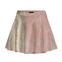 Guestbook Background Victorian Mini Flare Skirt