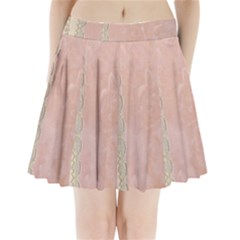 Guestbook Background Victorian Pleated Mini Skirt