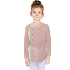 Guestbook Background Victorian Kids  Long Sleeve Tee