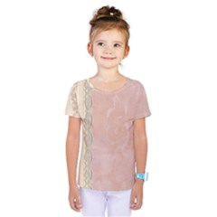 Guestbook Background Victorian Kids  One Piece Tee