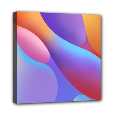 Color Orange Copy Mini Canvas 8  x 8