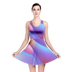 Color Orange Copy Reversible Skater Dress