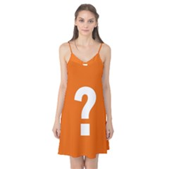 Question Mark Camis Nightgown