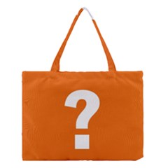 Question Mark Medium Tote Bag