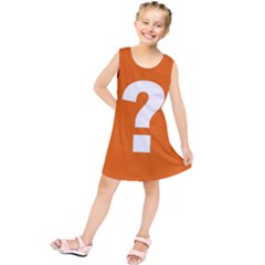 Question Mark Kids  Tunic Dress
