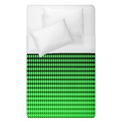 Neon Green And Black Halftone Copy Duvet Cover (Single Size)