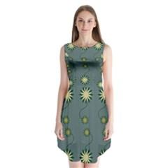 Repeat Sleeveless Chiffon Dress