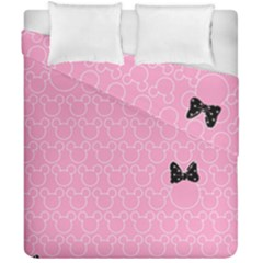 Ribbon Headbands Duvet Cover Double Side (california King Size)