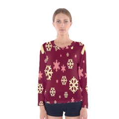 Red Resolution Version Women s Long Sleeve Tee
