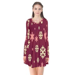 Red Resolution Version Flare Dress