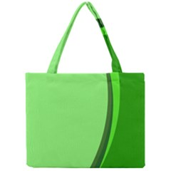 Simple Green Mini Tote Bag