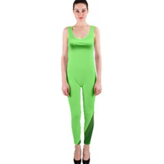 Simple Green OnePiece Catsuit