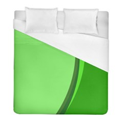 Simple Green Duvet Cover (full/ Double Size)