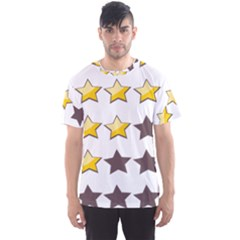 Star Rating Copy Men s Sport Mesh Tee