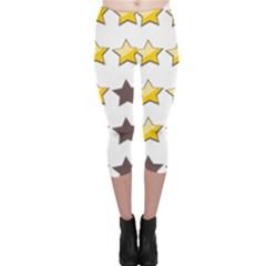 Star Rating Copy Capri Leggings