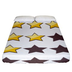 Star Rating Copy Fitted Sheet (king Size)