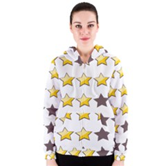 Star Rating Copy Women s Zipper Hoodie