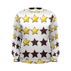 Star Rating Copy Women s Sweatshirt