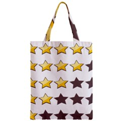 Star Rating Copy Zipper Classic Tote Bag