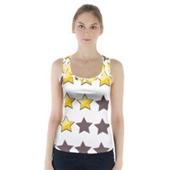 Star Rating Copy Racer Back Sports Top