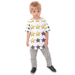 Star Rating Copy Kids  Raglan Tee
