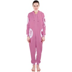Valentines Pink Day Copy Hooded Jumpsuit (Ladies)