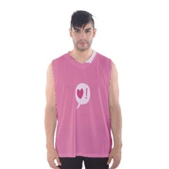 Valentines Pink Day Copy Men s Basketball Tank Top
