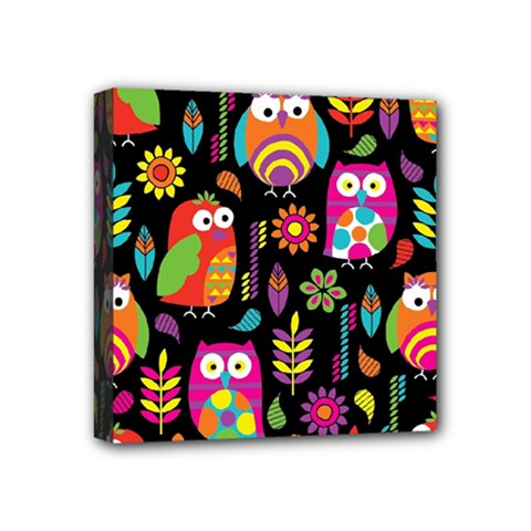 Ultra Soft Owl Mini Canvas 4  x 4