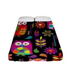 Ultra Soft Owl Fitted Sheet (Full/ Double Size)