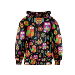 Ultra Soft Owl Kids  Pullover Hoodie