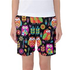 Ultra Soft Owl Women s Basketball Shorts