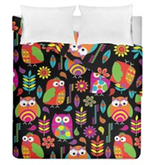 Ultra Soft Owl Duvet Cover Double Side (Queen Size)