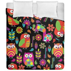 Ultra Soft Owl Duvet Cover Double Side (California King Size)