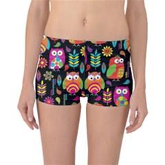 Ultra Soft Owl Reversible Bikini Bottoms