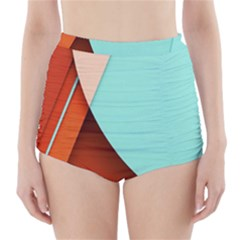 Thumb Lollipop Wallpaper High-Waisted Bikini Bottoms