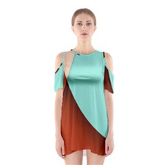 Thumb Lollipop Wallpaper Cutout Shoulder Dress
