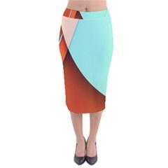 Thumb Lollipop Wallpaper Velvet Midi Pencil Skirt