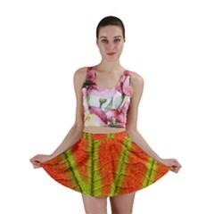 Unique Leaf Mini Skirt