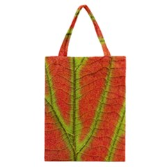 Unique Leaf Classic Tote Bag